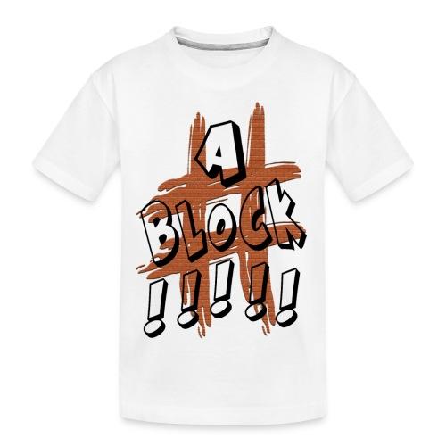 H-Tag A Block - T-shirt bio Premium Ado