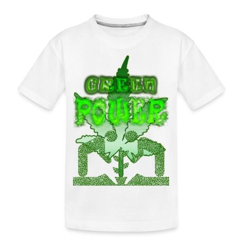 Green Power - T-shirt bio Premium Ado