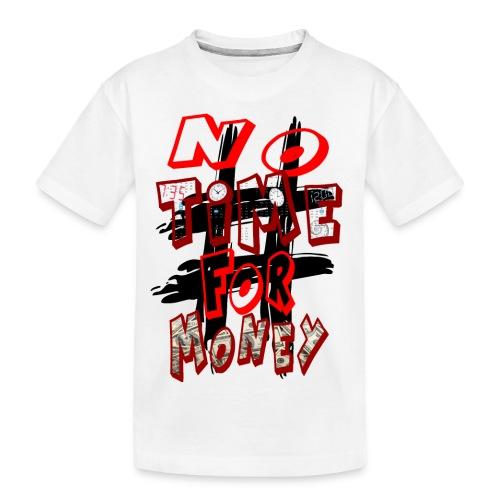 H-Tag No Time For Money - T-shirt bio Premium Ado