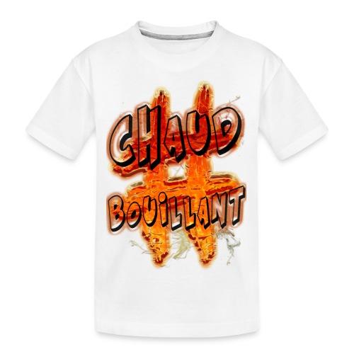 H-Tag Chaud Bouillant - T-shirt bio Premium Ado