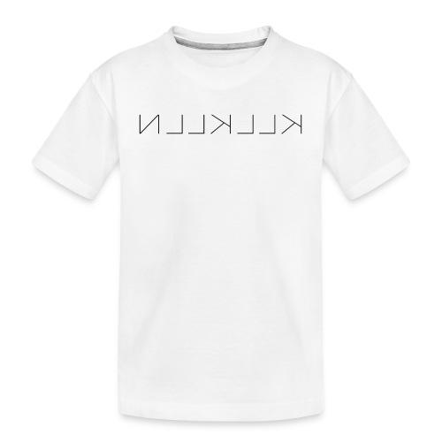 KLLKLLN Black Logo - Teenager Premium Organic T-Shirt