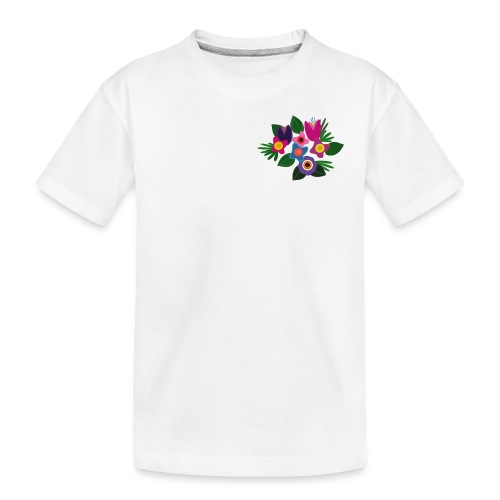 Flowers - Teenager Premium Bio T-Shirt