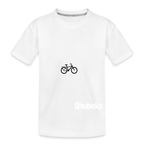 BCL Shirt Back White - Teenager Premium Organic T-Shirt
