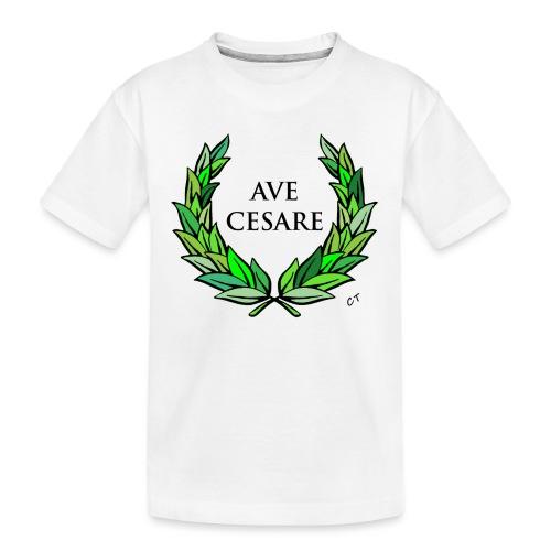 AVE CESARE - Maglietta ecologica premium per ragazzi