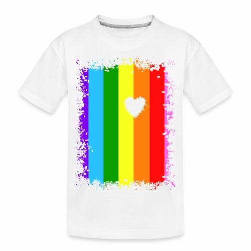 Love under the rainbow - Teenager Premium Bio T-Shirt
