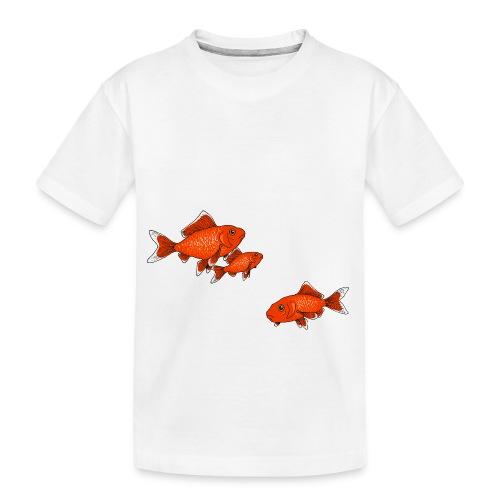 Poissons rouges - T-shirt bio Premium Ado