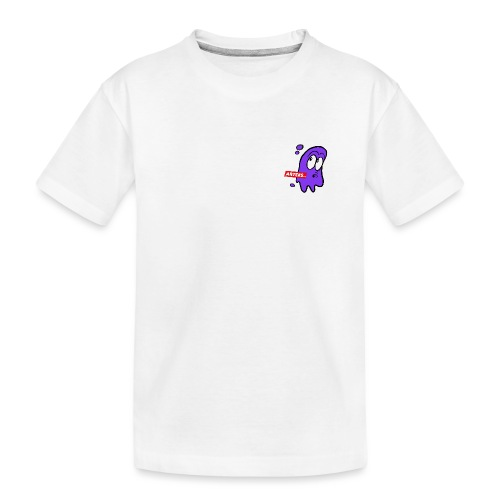 Artees GHOST Purple SMALL LOGO - Teenager Premium Bio T-Shirt