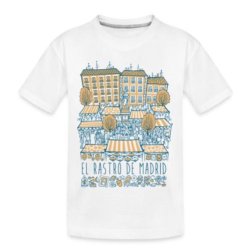 EL RASTRO DE MADRID - Camiseta orgánica premium adolescente