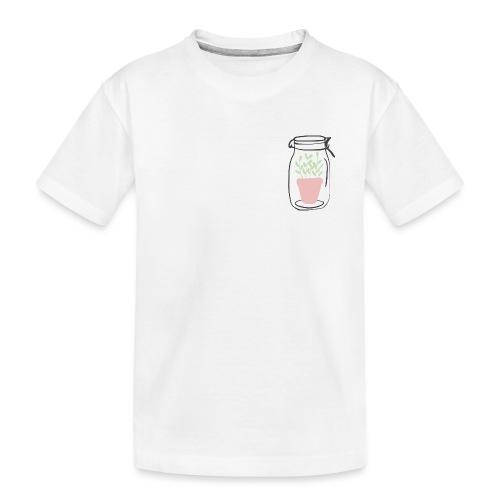 Jar of life - Ekologisk premium-T-shirt tonåring