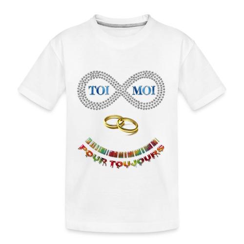 Toi et moi pour toujours - T-shirt bio Premium Ado