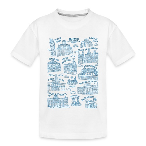 MADRID MONUMENTAL - Camiseta orgánica premium adolescente