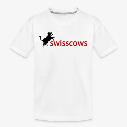 Swisscows - Teenager Premium Bio T-Shirt