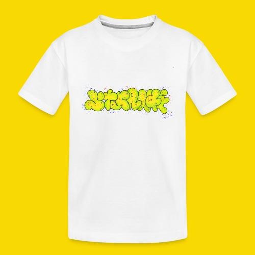 Strange Graffiti - Ekologiczna koszulka młodzieżowa Premium