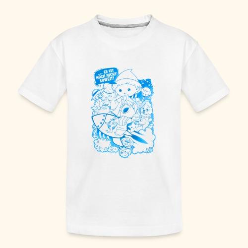 Sandmann und Freunde mit Rakete blau 2019 - Teenager Premium Bio T-Shirt