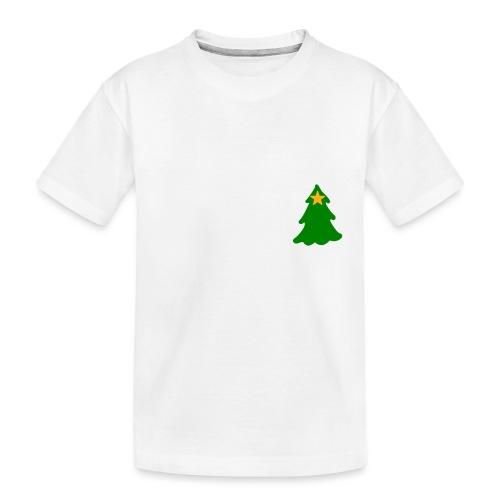 White Christmas - Teenager Premium Organic T-Shirt