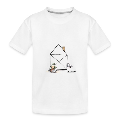 Stef 0003 00 Haus - Teenager Premium Bio T-Shirt