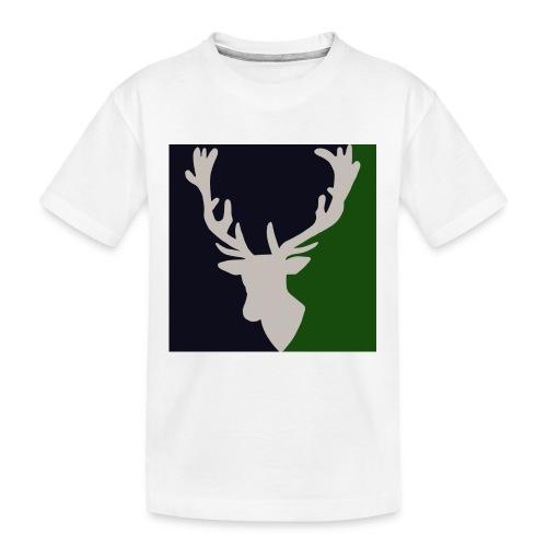 Hirch B FORST - Teenager Premium Bio T-Shirt