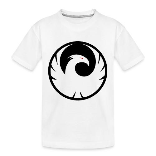 Phönix Logo Schattierung Phoenix schwarz black - Teenager Premium Bio T-Shirt