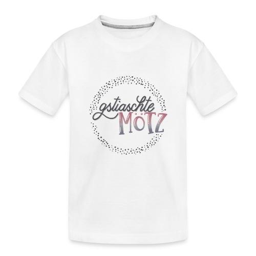 gstiaschte Mötz - Teenager Premium Bio T-Shirt