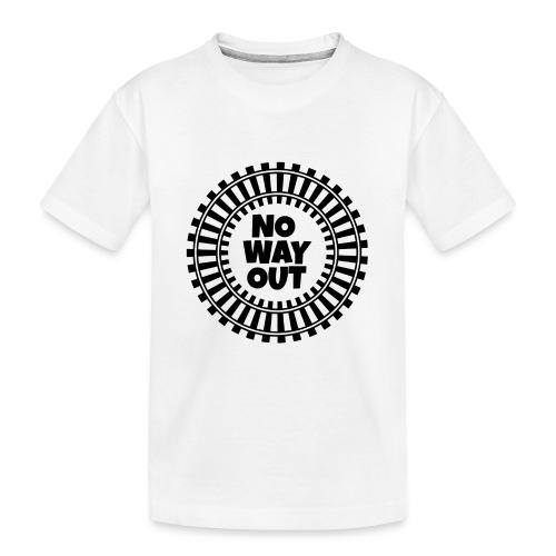 no way out - Camiseta orgánica premium adolescente