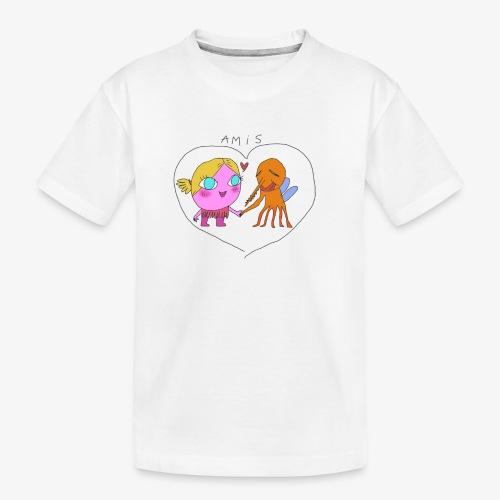 les meilleurs amis - T-shirt bio Premium Ado