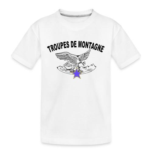 choucasTDM dos - T-shirt bio Premium Ado