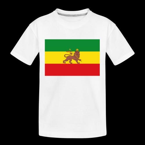LION FLAG - Teenager Premium Organic T-Shirt