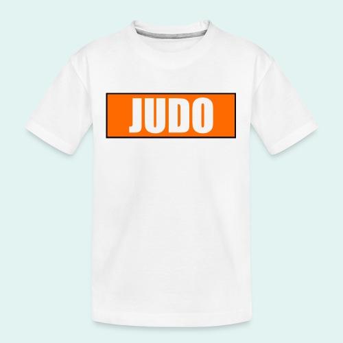 Judo Orange 5. Kyu - Teenager Premium Bio T-Shirt