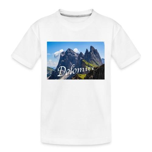Dolomiti - Teenager Premium Bio T-Shirt