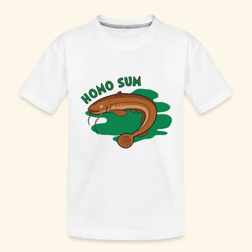 Homo sum ;) - Ekologiczna koszulka młodzieżowa Premium