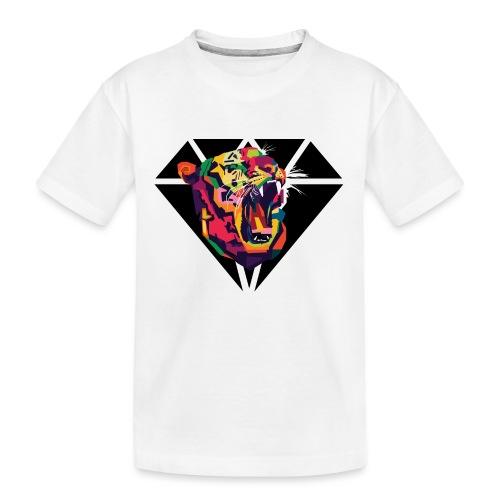 Tiger Hipster Design - Teenager Premium Bio T-Shirt