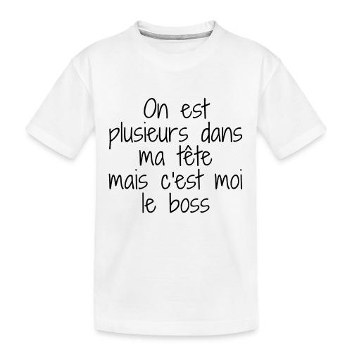 On est plusieurs dans ma tète - T-shirt bio Premium Ado