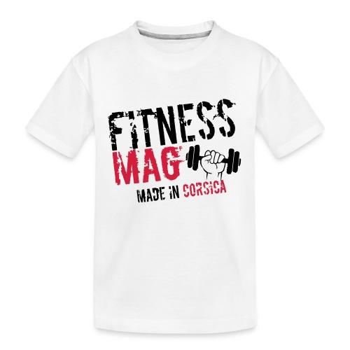 Fitness Mag made in corsica 100% Polyester - T-shirt bio Premium Ado