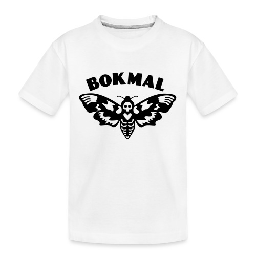 BOKMAL - Ekologisk premium-T-shirt tonåring