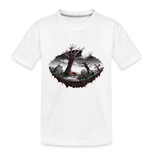 Horrorcontest scribblesirii - Teinien premium luomu-t-paita