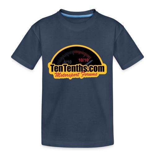 3Colour_Logo - Teenager Premium Organic T-Shirt