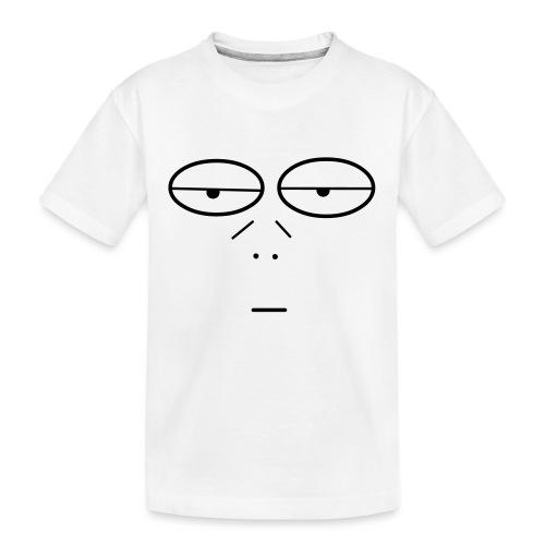 Volto Lenzuolo - Maglietta ecologica premium per ragazzi