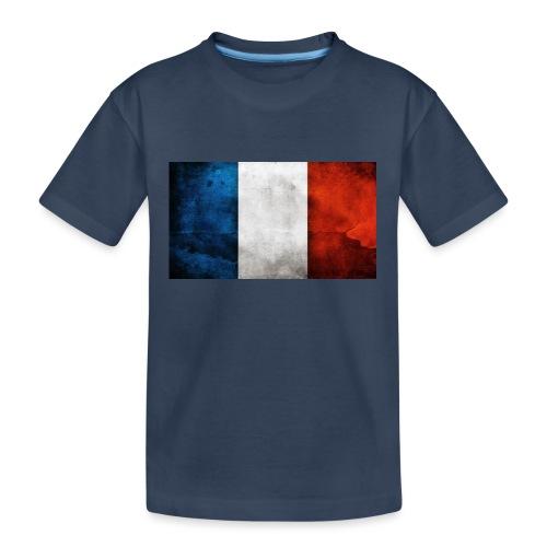 France Flag - Teenager Premium Organic T-Shirt