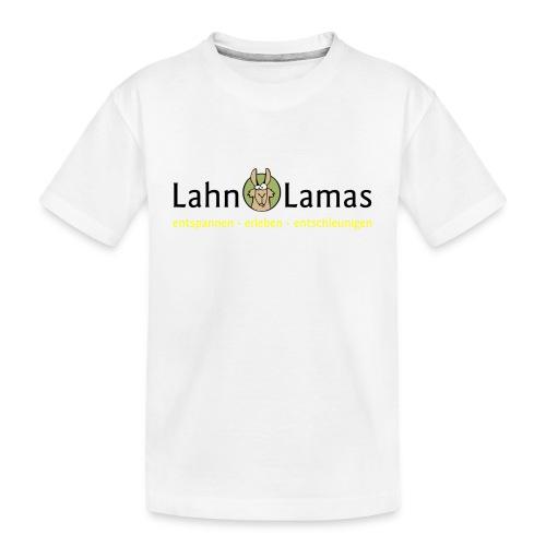 Lahn Lamas - Teenager Premium Bio T-Shirt