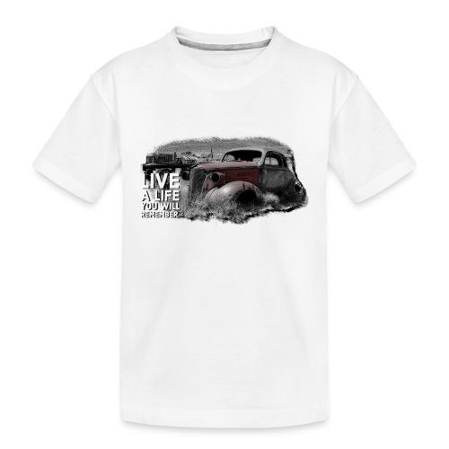 Live a life Oldtimer - Teenager Premium Bio T-Shirt