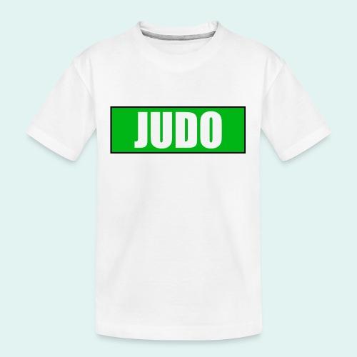 Judo Gruen 3. Kyu - Teenager Premium Bio T-Shirt