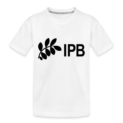 IPB version 3 black - Teenager Premium Organic T-Shirt