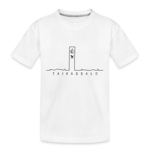 Taivassalo -printti - Teinien premium luomu-t-paita