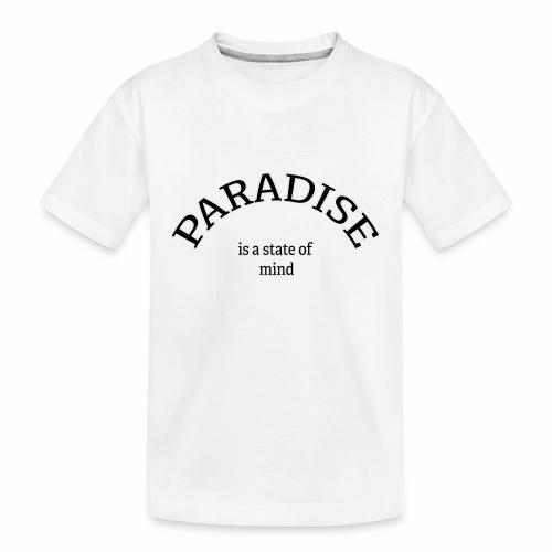 Paradise - Teenager premium biologisch T-shirt