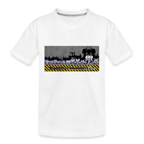 #MarchOfRobots ! LineUp Nr 2 - Teenager premium T-shirt økologisk