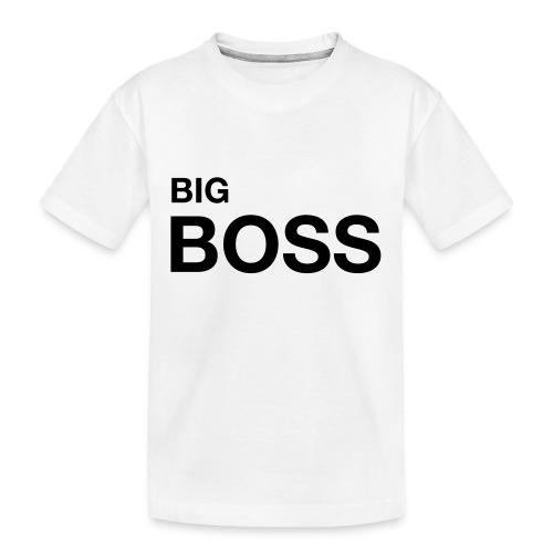 big boss 01 - Teenager Premium Bio T-Shirt