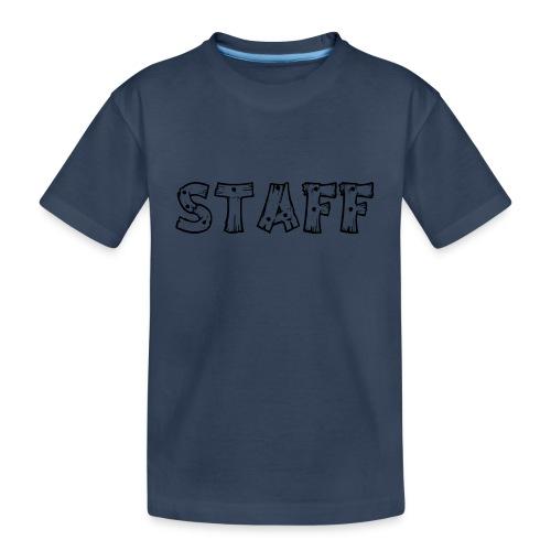STAFF - Maglietta ecologica premium per ragazzi