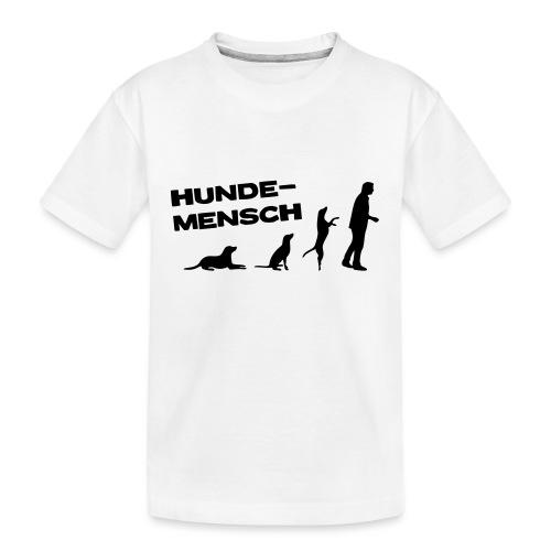 Hundemensch - Teenager Premium Bio T-Shirt