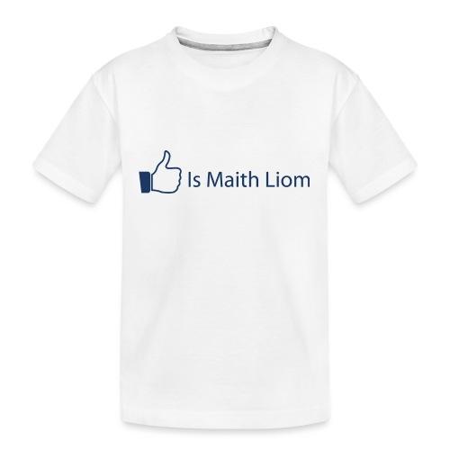 like nobg - Teenager Premium Organic T-Shirt
