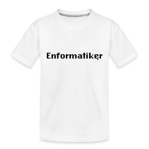 Enformatiker- Cursor - Teenager Premium Bio T-Shirt